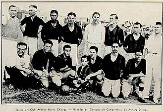 Club Atlético Nueva Chicago - Nueva Chicago won its first official title in 1933, the Copa Competencia Jockey Club.
