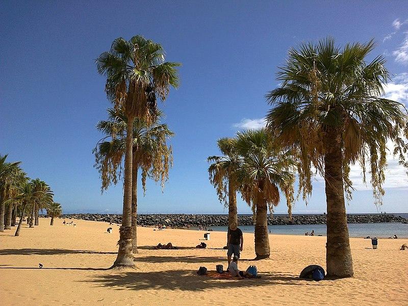 File:Canaries Tenerife Playa Teresitas 08092015 - panoramio (1).jpg