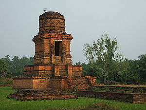 Indonesian Esoteric Buddhism - Bahal temple I, in Padang Lawas, North Sumatra. One of the remnants of Pannai Kingdom.