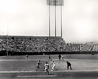 Candlestick Park - A Giants game at Candlestick in 1965.