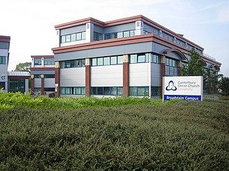 Canterbury Christ Church University - Broadstairs Campus