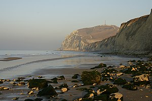 Cap Blanc-Nez - Image: Cap Blanc Nez (before sunset)