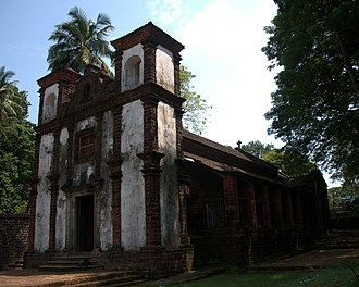 Old Goa - Image: Capela de Santa Catarina, Velha Goa, 2