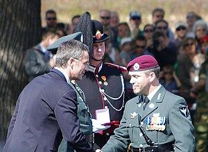 War Cross (Norway) - Captain Lian 8 May 2011