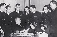 USS Dayton, Captain and Department Heads