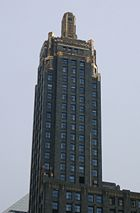 The Carbide & Carbon Building, the 86th-tallest building in Chicago