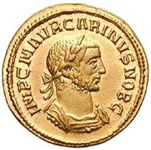 History of banking - Gold coin produced by the Roman Imperial Mint
