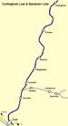 Railway Line map