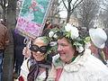 Carnaval des Femmes - Fête des Blanchisseuses 2013 - Deux carnavaleuses.JPG