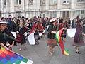 Carnaval des Femmes 2015 - P1360807 - Boliviens place de l'Hôtel-de-Ville - Paris.JPG