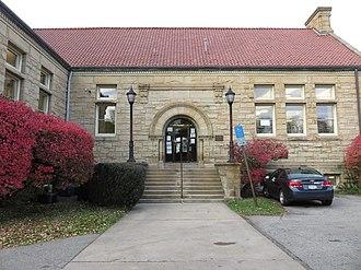 McKeesport, Pennsylvania - Image: Carnegie Library Mc Keesport 2018a