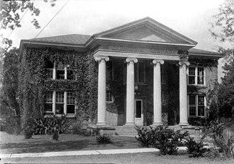 Florida A&M University - Carnegie Library c. 1930.