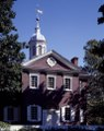 Carpenters' Hall, Philadelphia, Pennsylvania, where the First Continental Congress met in 1774 LCCN2011633597.tiff