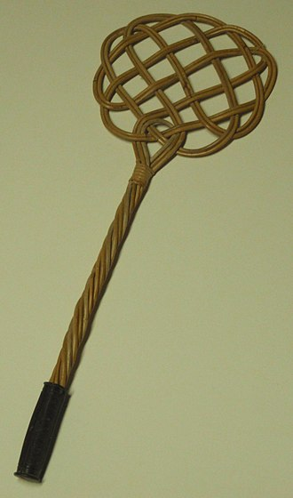 Carpet beater -  A carpet beater