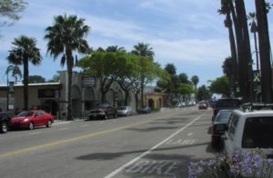 Carpinteria, California - Linden Avenue (looking toward the beach)