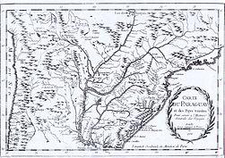 Carte du paraguay et del pays voisins Echelle 1756.jpg