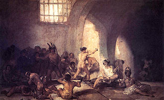 Insanity - Goya's Madhouse, 1812-1819