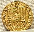 Casale monferrato, guglielmo II paleologo marchese, oro, 1494-1518, 03.JPG