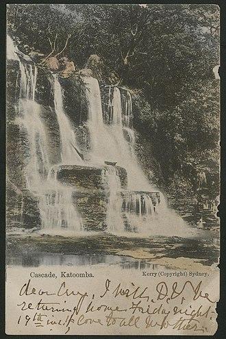 Katoomba, New South Wales - Early Katoomba postcard