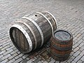 Casks ready to go! - geograph.org.uk - 1890009.jpg