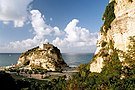 Castle on an island, Tropea, Italy, Sep 2005.jpg