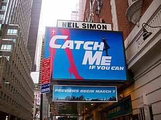 Catch Me If You Can (musical) - Catch Me If You Can on Broadway at the Neil Simon Theatre.