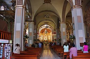 Immaculate Conception Cathedral, Celaya - Internal view