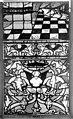Cathédrale - Vitrail, Chapelle Saint-Joseph, Vie de saint Romain, lancette médiane, troisième panneau, en haut - Rouen - Médiathèque de l'architecture et du patrimoine - APMH00031315.jpg