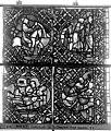 Cathédrale - Vitrail, déambulatoire, baie 52, le Bon Samaritain, sixième panneau, en haut - Rouen - Médiathèque de l'architecture et du patrimoine - APMH00032386.jpg