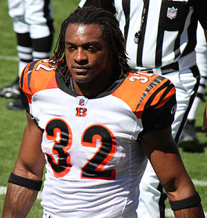 Cedric Benson - Benson with the Bengals in 2011