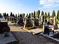 Cemetery in Chlum, Třebíč District.JPG