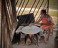 Cenotes & Restaurant Santa Barbara, Homun, Yucatan, Mexico - Tortillas.jpg