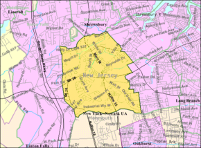 Census Bureau map of Eatontown, New Jersey.png