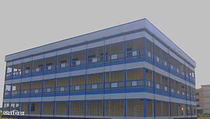 Pabna University of Science & Technology - Image: Central library pust