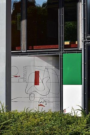 Pavillon Le Corbusier - Image: Centre Le Corbusier Museum Heidi Weber 2015 09 08 16 18 58