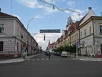 Centrul oraşului Rădăuţi1.jpg