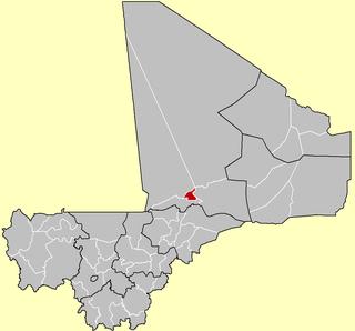 Diré Cercle Cercle in Tombouctou Region, Mali