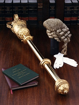 Ceremonial mace - Ceremonial Mace of the Queensland Parliament, Australia
