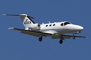 Cessna Citation Mustang very light business jet