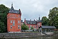 Château Bilquin-de Cartier from the North bank of the Sambre river (DSCF7729).jpg
