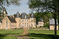 Château de Vaulogé - Fercé-sur-Sarthe (Sarthe) 01.JPG