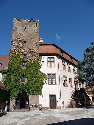 Wœrth - Castle of Wœrth, today town hall and museum