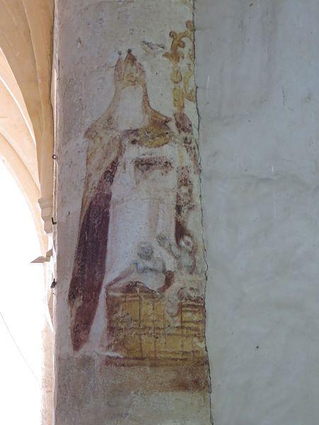 Fresque de Saint Nicolas