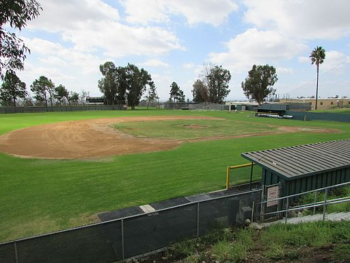 Chaffey College baseball diamond