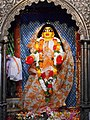 Chaitanya Mahaprabhu in Dhameswar Mahaprabhu temple, Nabadwip.jpg