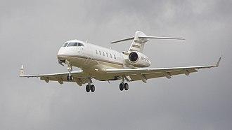 Techniques d'Avant Garde - Bombardier Challenger 300 business jet