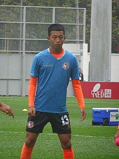 Chan Kwong Ho Hong Kong footballer