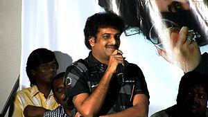Chandu (film director) - Chandu at Prema Oka Maikam Audio Release Event