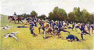La charge des Rough Riders à San Juan (Frederic Remington)