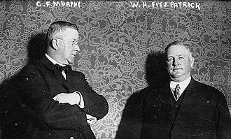 Charles Francis Murphy - Murphy with William H. Fitzpatrick, the Erie County Democratic leader
